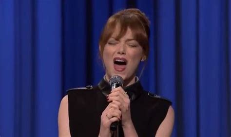 emma stone lip sync songs hot and trendy naija emma stone shows off her lip