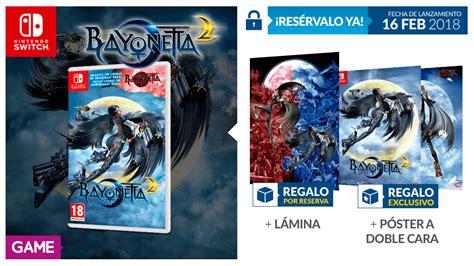 Bayonetta 2 Nintendo Switch bayonetta y bayonetta 2 para nintendo switch con regalo en
