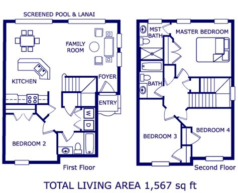 floor plan of our vacation home