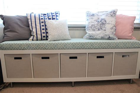 mommy vignettes ikea window bench storage containers
