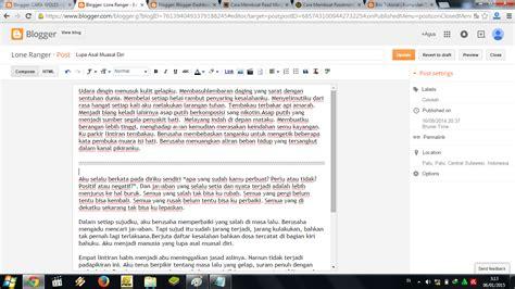 cara membuat readmore blogspot cara membuat readmore di blog cara woles