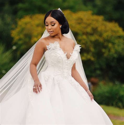 PICS: MINNIE UNVEILS WEDDING IMAGES!   Daily Sun