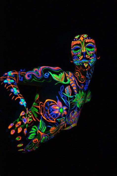 glow in the paint black glow in the paint xoxo black light