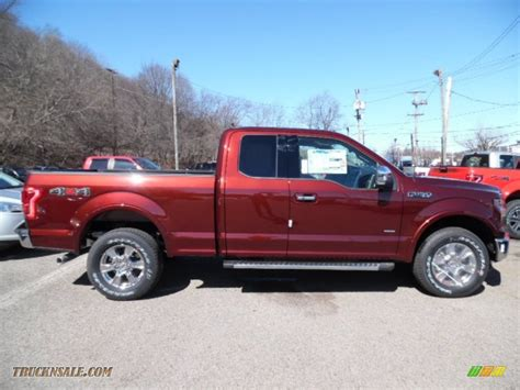 2015 ford f150 xlt supercab 4x4 in bronze metallic a69054 truck n sale