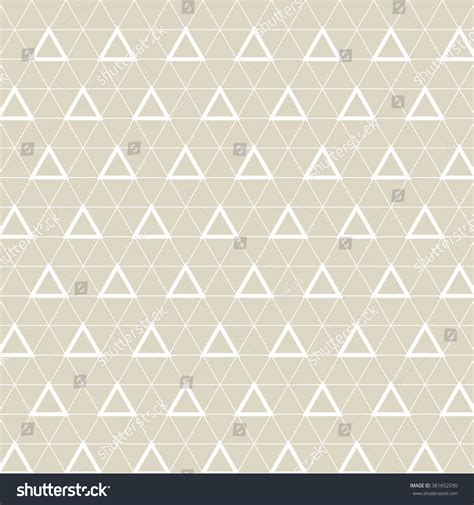 triangle pattern grid triangle grid designvector seamless pattern stock vector