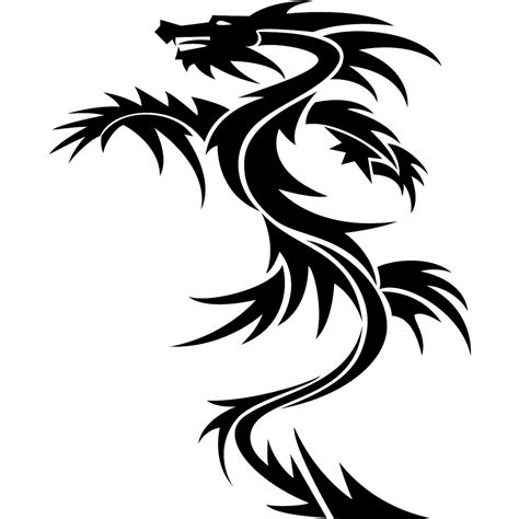 tattoo tribal dragon simple interior home design