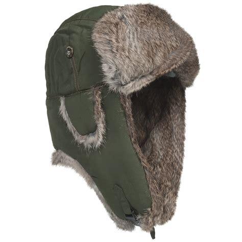 mad bomber 174 supplex 174 aviator hat rabbit fur