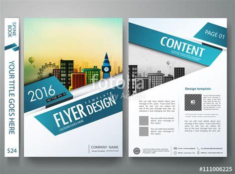 quot brochure design template vector flyers annual report