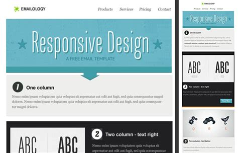 responsive email design templates 70 best html email newsletter templates