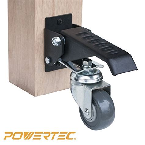work bench casters powertec 17000 workbench caster kit pack of 4 mh depot