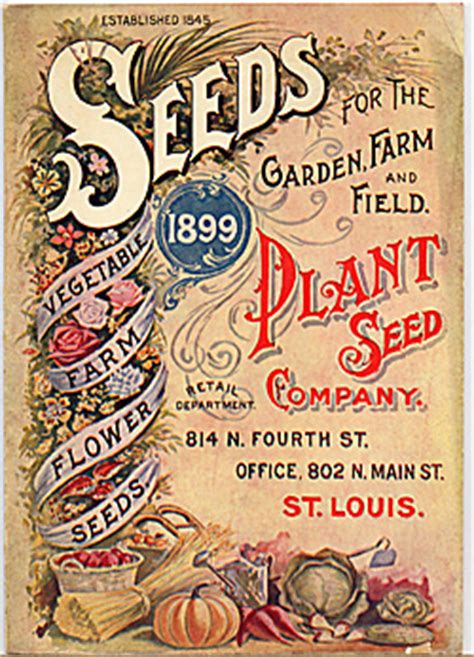 Gardening Catalogs Seed Companies by A History Of Seed Companies In St Louis Missouri The