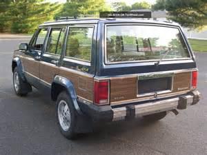 1989 jeep wagoneer limited 1989 jeep wagoneer limited sport utility 4 door 4 0l 4x4