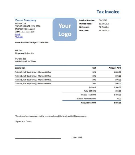 virtual assistant invoice template invoice template 2017