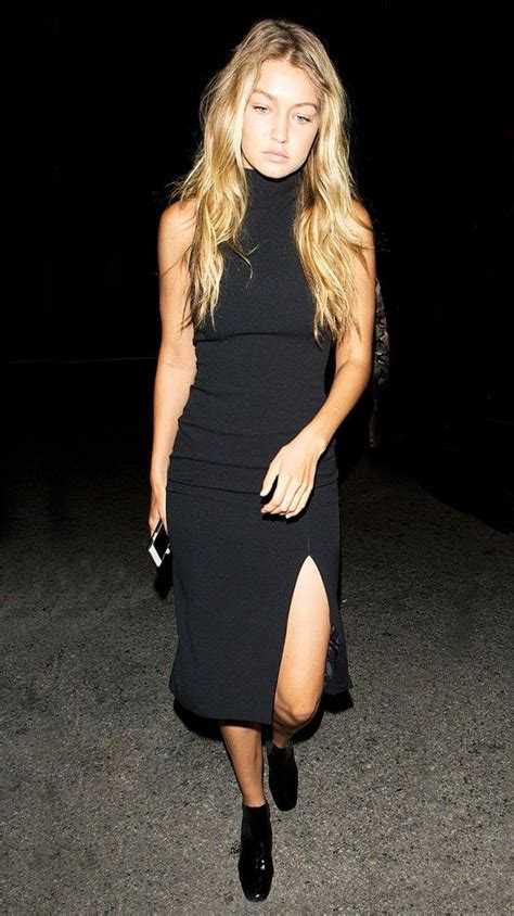 Dress Vonny Black fashion inspiration gigi and hadid a collection of