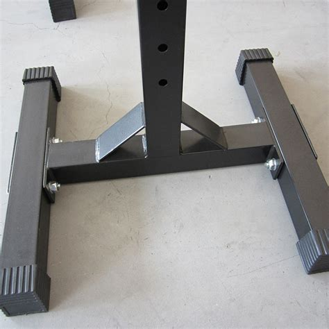 bench press replacement squat rack stand pair bench press weight lifting barbell