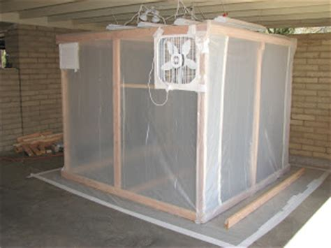 home depot paint booth torsten s rv 12 paint booth almost covered