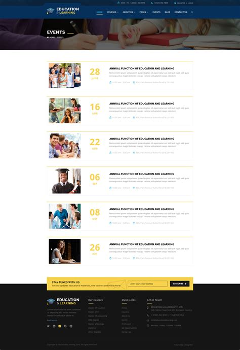 themes for education conferences educationwp education wordpress theme by templatation