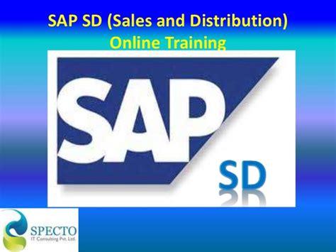 Sap Tutorial Sales And Distribution | sap sd sales and distribution online training course in