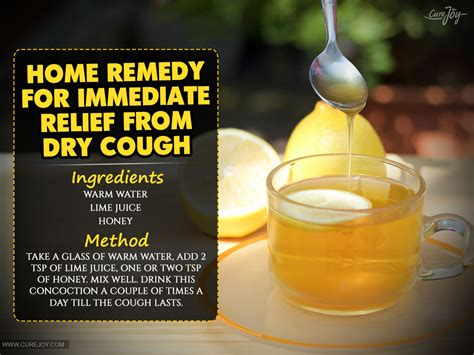 home remedy for immediate relief from cough