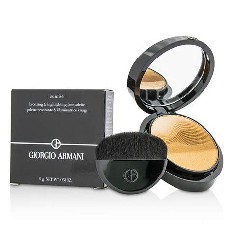 Giorgio Armani Highlighting Contouring Palette Bronzing Highlighting Palette Giorgio
