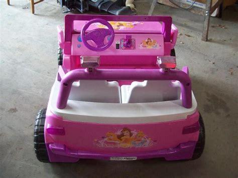Toyota Power Wheels Toyota Disney Princess Power Wheels Auction 55 K Bid