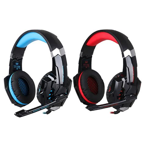 Headset Gaming Kotion Each G9000 3 5mm Single With Led Murah Grosir Ob kotion each g9000 3 5mm gaming headphone headset