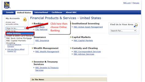 reset rbc online banking password rbc bank online banking login cc bank