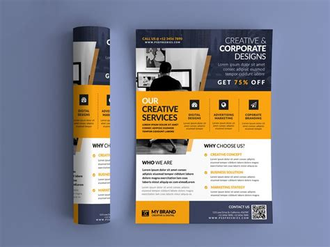 best free flyer templates psd 187 css author