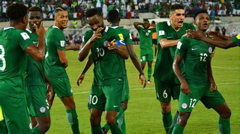 peak moments of nigeria qualification for 2018 fifa world