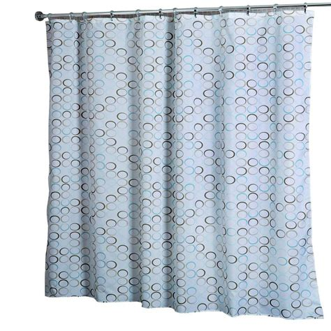 croydex shower curtain croydex shower curtain in teal rings af583339yw the home