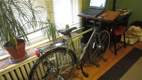 Diy Bike Desk Diy Bike Desk Youtube