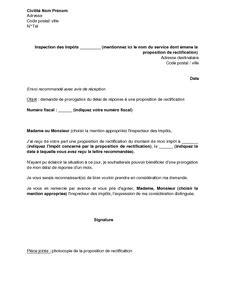 Demande De Soumission Lettre Exemple Gratuit De Lettre Demande Prorogation D 233 Lai R 233 Ponse 224 Proposition Rectification Adress 233 E