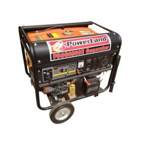 powerland 6 500 watt tri fuel gasoline lpg and ng