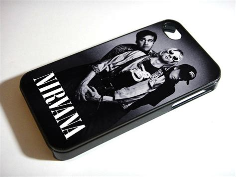 nirvana rock band cover iphone 5s 5 4s 4 samsung galaxy