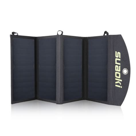 Foldable Solar Power Bank 2 Usb Port With 3 Solar Panel Omwb0hbk 25w foldable portable solar panel battery charger dual