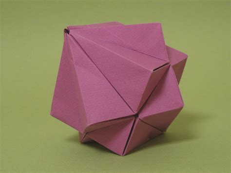 origami cube origami dual cube zing