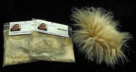 Imitates The Fur Flies On And The City Set by Wookie Fly Tying Fur