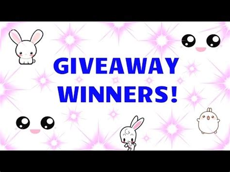 Giveaway Drawing - blind bags giveaway winners drawing announcement youtube