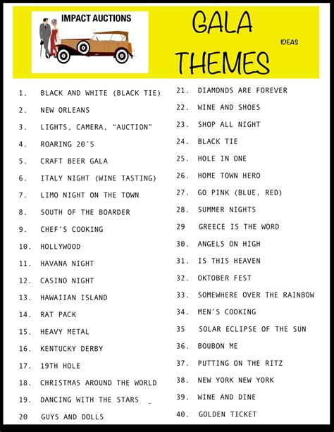 theme nights list gala themes jpeg gala pinterest gala themes