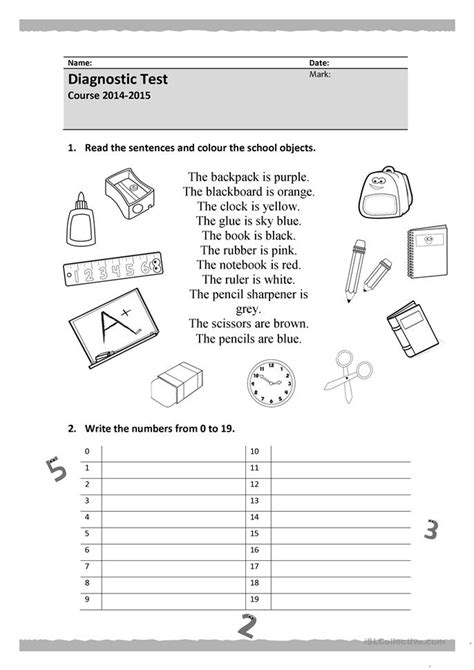 printable english test worksheets common worksheets 187 english test printable worksheets