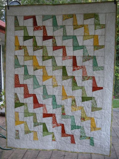 tutorial merajut pola zig zag 17 best images about zig zag quilts on pinterest chevron