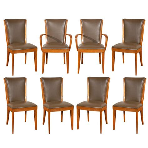 Heywood Wakefield Dining Chairs Set Of Eight Heywood Wakefield Dining Chairs At 1stdibs