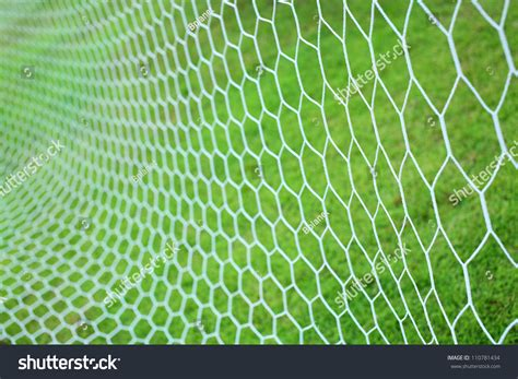Abstract Pattern In Net | abstract soccer goal net pattern stock photo 110781434