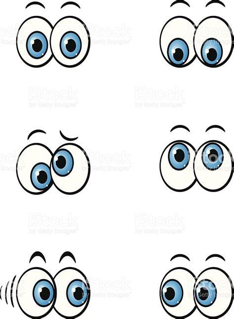 imagenes de unos ojos animados dibujos animados de los ojos arte vectorial de stock y