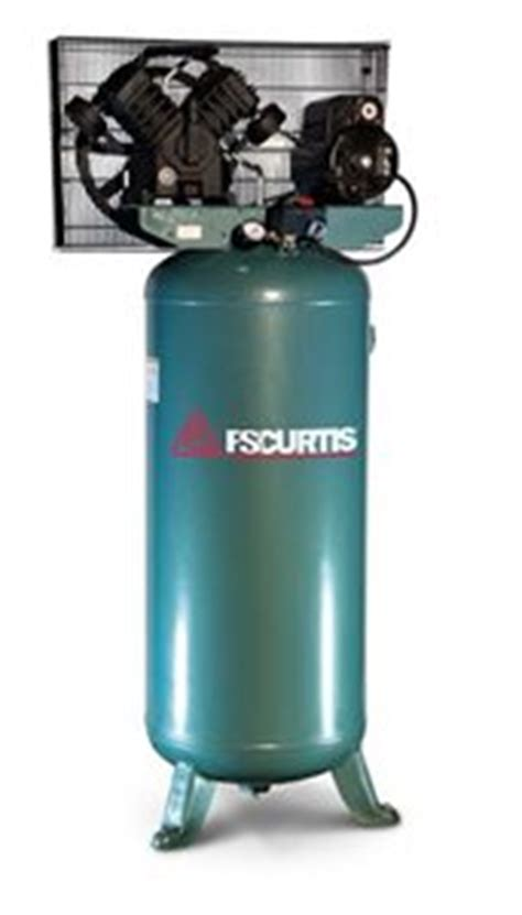 fs curtis 5hp 60 gallon vertical single stage air compressor cts series automotive tools and