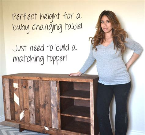 build  baby changing table plans diy