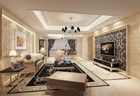 Wallpaper For Rooms by Wallpaper Design For Living Room That Can Liven Up The