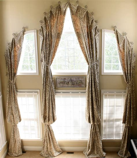 Arched Window Treatments Ideas Window Treatments For Arched Windows Decofurnish