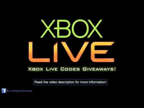 Free Xbox Live Codes Giveaway 2014 - free 1600 microsoft points hack tutorial