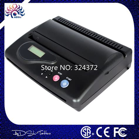 tattoo stencil printer usb free shipping high quality cheap black original usb tattoo